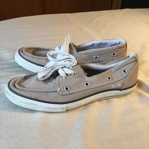 """Converse Vintage One Star """"Boat Shoes"""" M8.5 W10.5"""